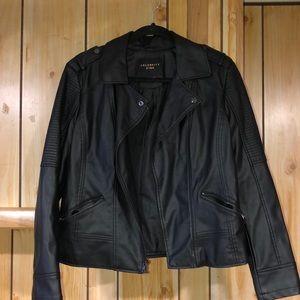 Celebrity Pink Faux leather jacket